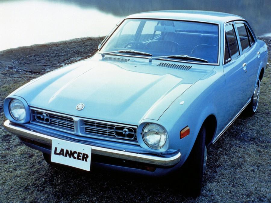Mitsubishi Lancer седан 4-дв., 1973–1974, A70 - отзывы, фото и характеристики на Car.ru