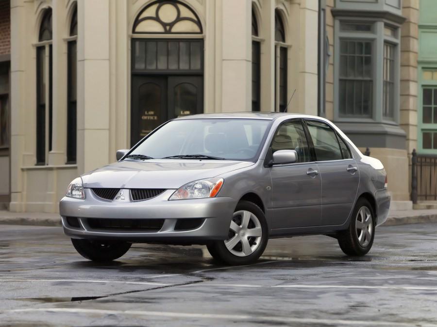 Mitsubishi Lancer седан 4-дв., 2003–2005, 6 поколение [рестайлинг] - отзывы, фото и характеристики на Car.ru