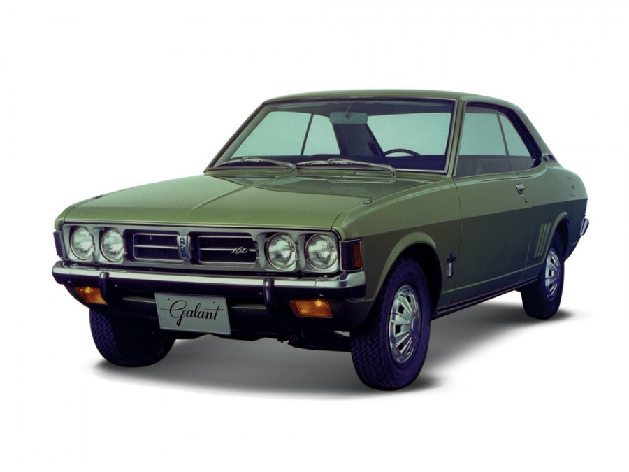 Mitsubishi Galant купе, 1969–1975, 1 поколение - отзывы, фото и характеристики на Car.ru