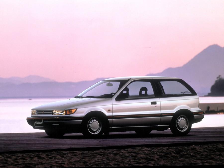 Mitsubishi Colt хетчбэк, 1988–1992, C50 - отзывы, фото и характеристики на Car.ru