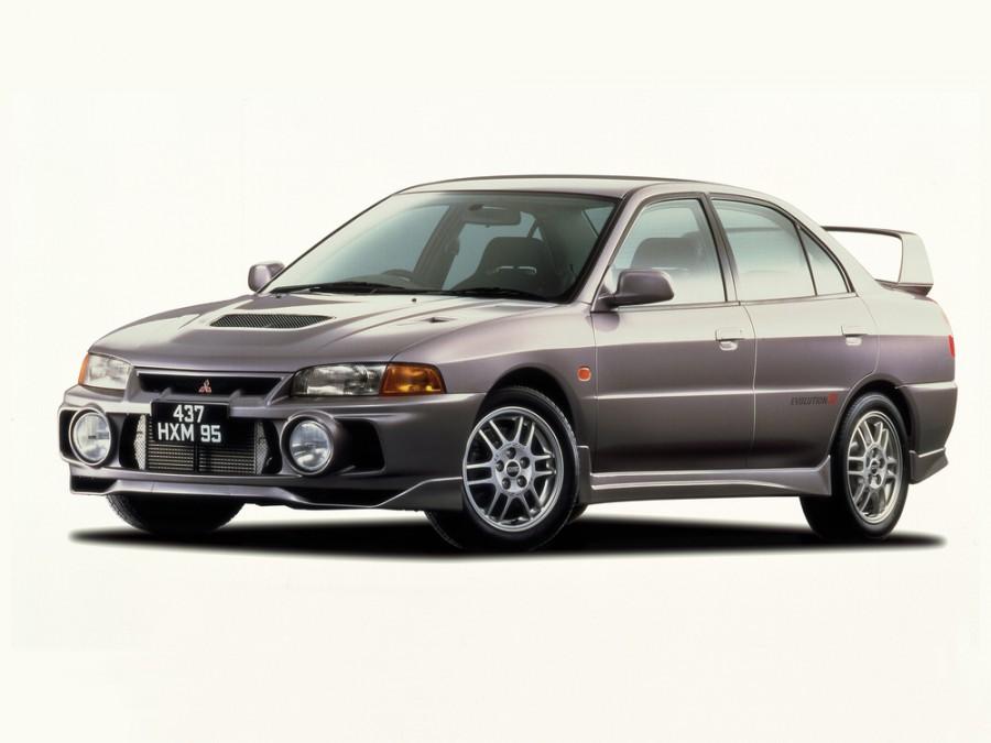 Mitsubishi Lancer Evolution седан, 1996–1998, IV - отзывы, фото и характеристики на Car.ru