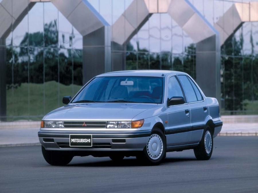 Mitsubishi Lancer седан, 1988–1989, 3 поколение - отзывы, фото и характеристики на Car.ru