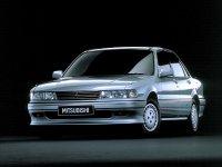 Mitsubishi Galant, 6 поколение, Седан, 1987–1993