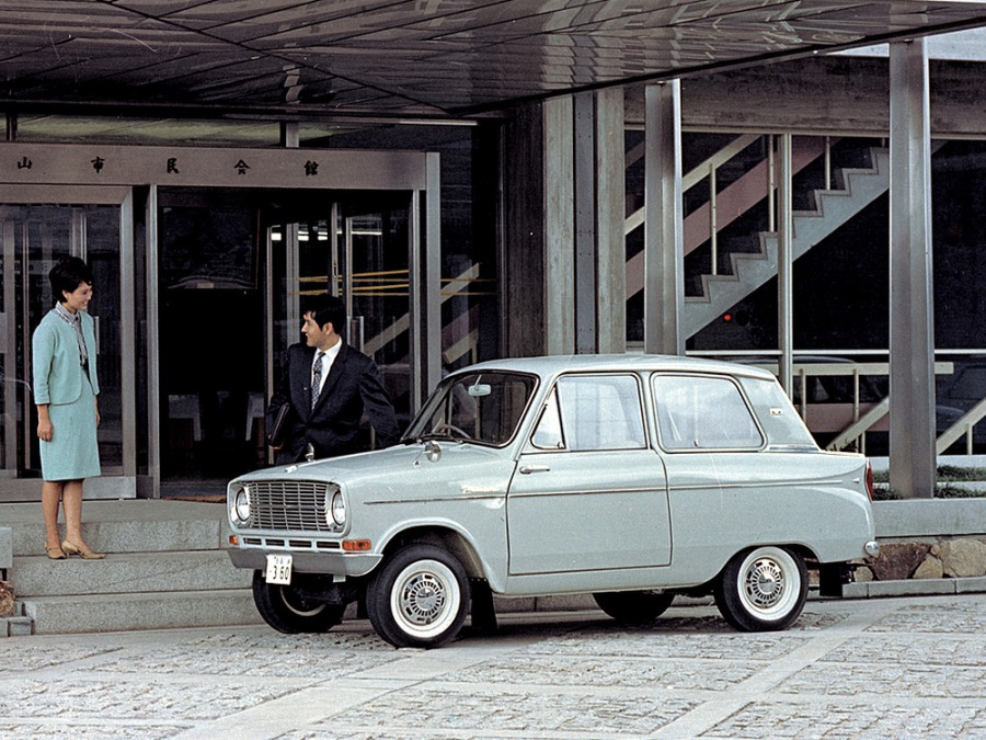 Mitsubishi Minica седан, 1962–1964, LA20 - отзывы, фото и характеристики на Car.ru