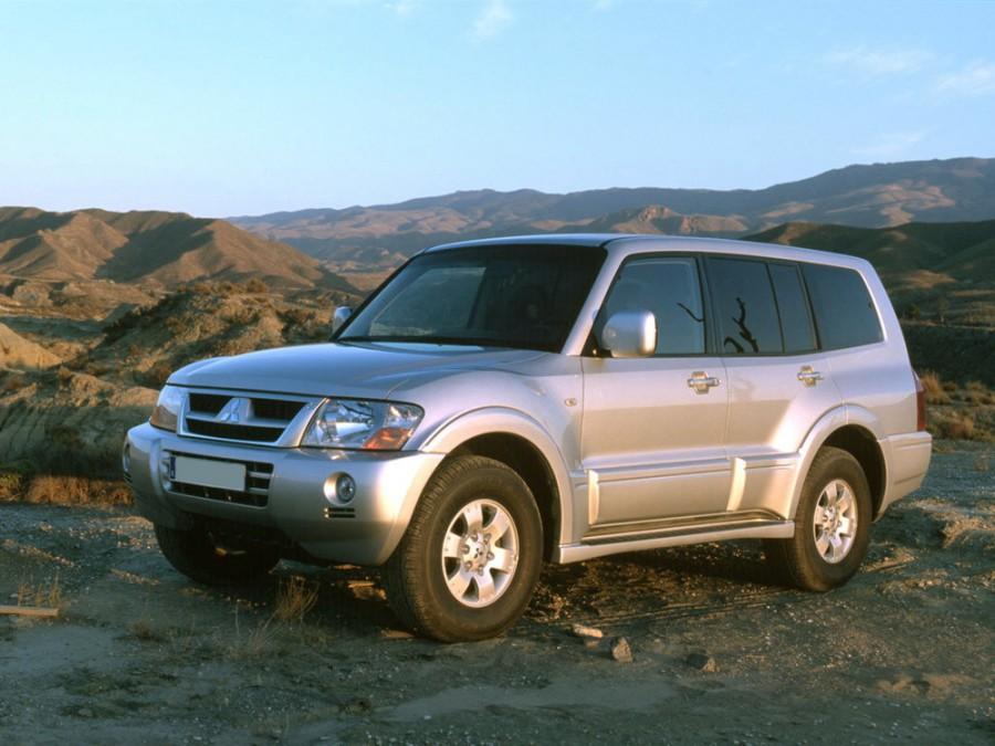 Mitsubishi Montero внедорожник 5-дв., 2003–2006, 3 поколение [рестайлинг] - отзывы, фото и характеристики на Car.ru