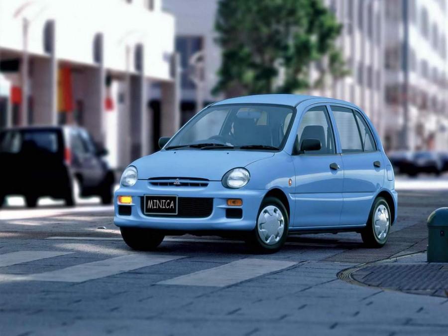 Mitsubishi Minica хетчбэк 3-дв., 1993–1997, 7 поколение - отзывы, фото и характеристики на Car.ru