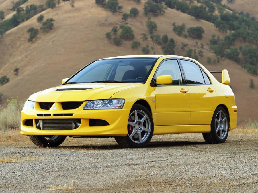 Mitsubishi Lancer Evolution седан, 2003–2005, VIII - отзывы, фото и характеристики на Car.ru