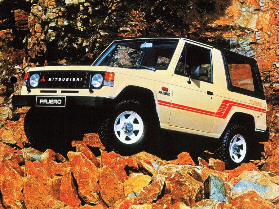 Mitsubishi Pajero Canvas Top внедорожник 2-дв., 1982–1991, 1 поколение - отзывы, фото и характеристики на Car.ru