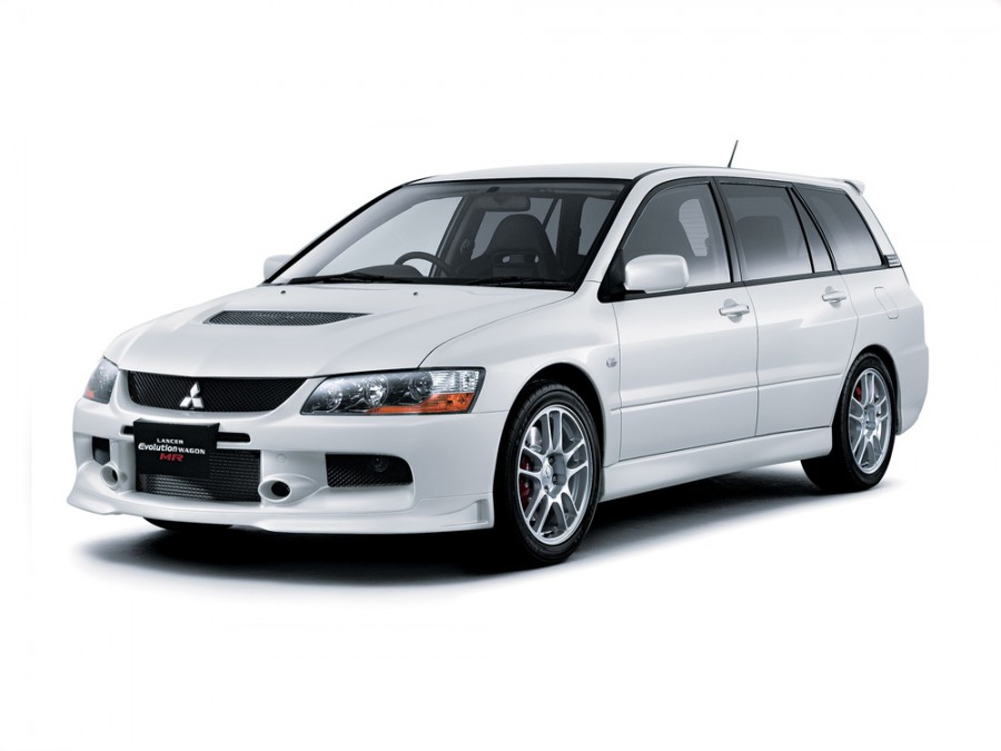 Mitsubishi Lancer Evolution JDM универсал, 2005–2007, IX - отзывы, фото и характеристики на Car.ru