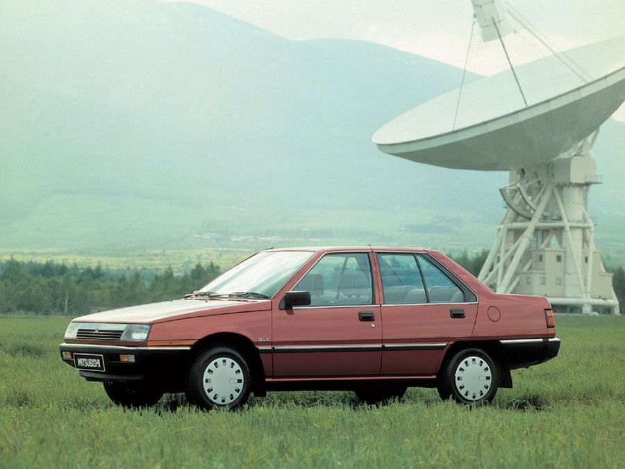Mitsubishi Lancer Fiore седан, 1983–1992, 2 поколение - отзывы, фото и характеристики на Car.ru