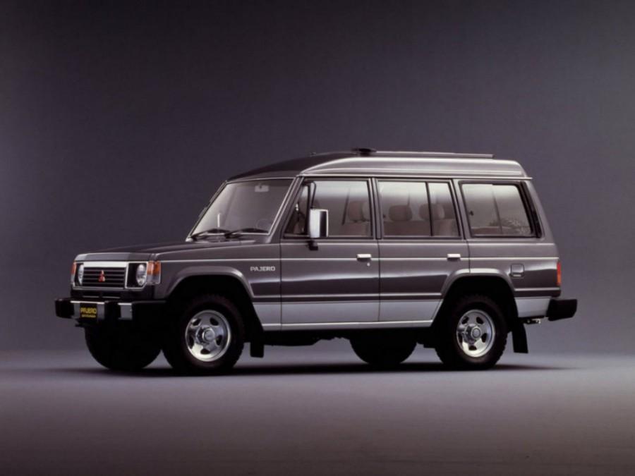 Mitsubishi Pajero Wagon High Roof внедорожник 5-дв., 1982–1991, 1 поколение - отзывы, фото и характеристики на Car.ru