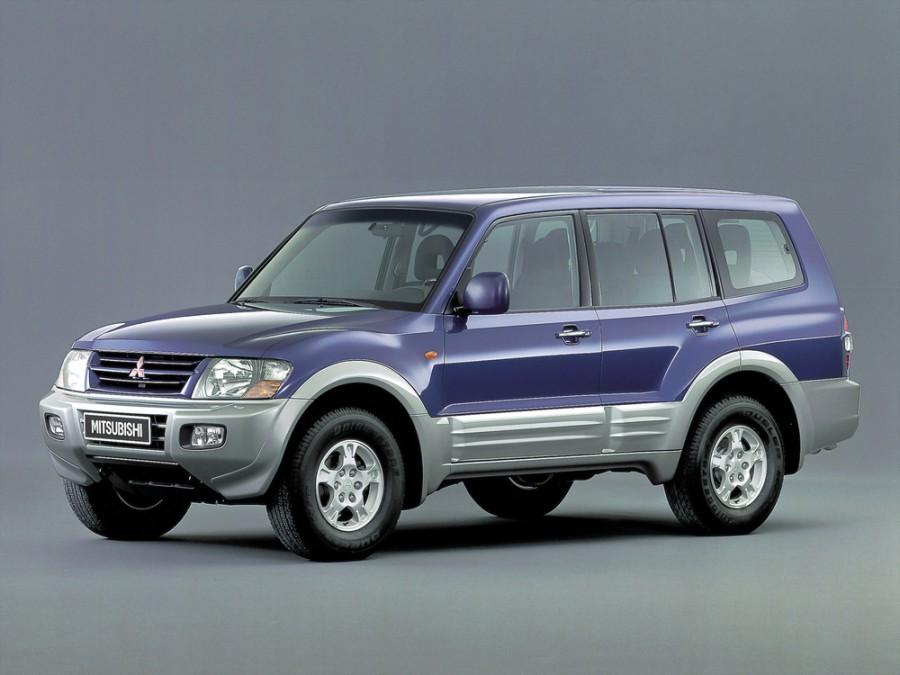 Mitsubishi Montero внедорожник 5-дв., 1999–2003, 3 поколение - отзывы, фото и характеристики на Car.ru