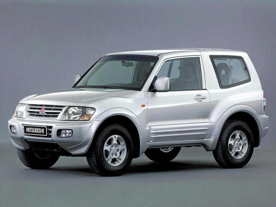 Mitsubishi Montero внедорожник 3-дв., 1999–2003, 3 поколение - отзывы, фото и характеристики на Car.ru