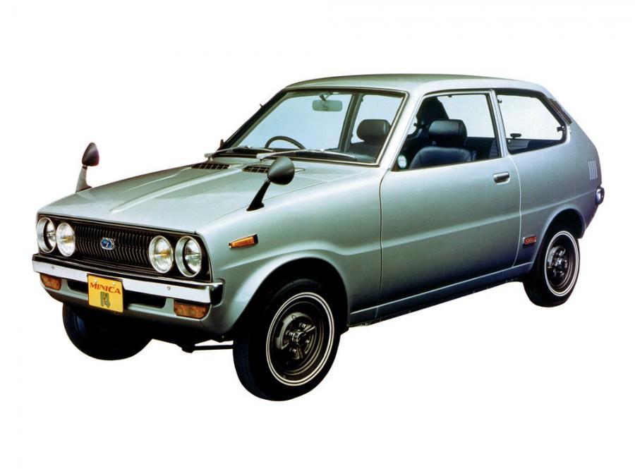 Mitsubishi Minica хетчбэк, 1973–1976, F4 - отзывы, фото и характеристики на Car.ru