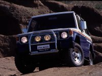 Mitsubishi Pajero, 1 поколение, Rothmans special внедорожник 3-дв., 1982–1991