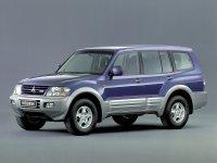 Mitsubishi Pajero, 3 поколение, Внедорожник 5-дв., 1999–2003