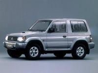Mitsubishi Pajero, 2 поколение, Metal top внедорожник 3-дв., 1991–1997