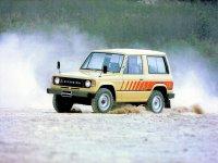 Mitsubishi Montero, 1 поколение, Внедорожник 3-дв., 1982–1991