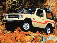 Mitsubishi Pajero, 1 поколение, Canvas top внедорожник 2-дв., 1982–1991