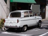 Mitsubishi Minica, LA21 [рестайлинг], Седан, 1964–1966