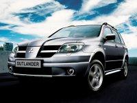 Mitsubishi Outlander, 1 поколение, Кроссовер, 2003–2007