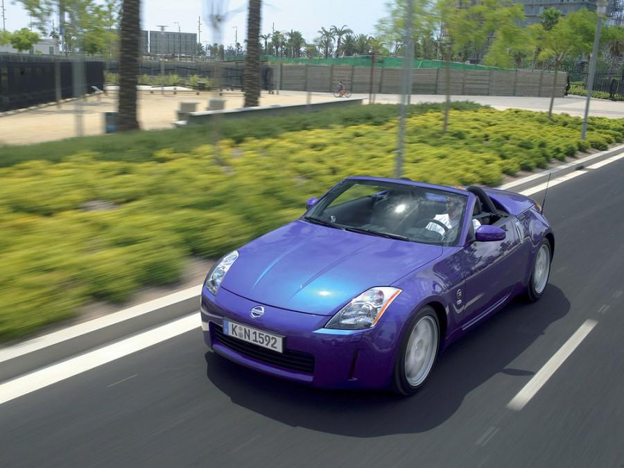 Nissan 350Z кабриолет, 2001–2009, Z33 - отзывы, фото и характеристики на Car.ru