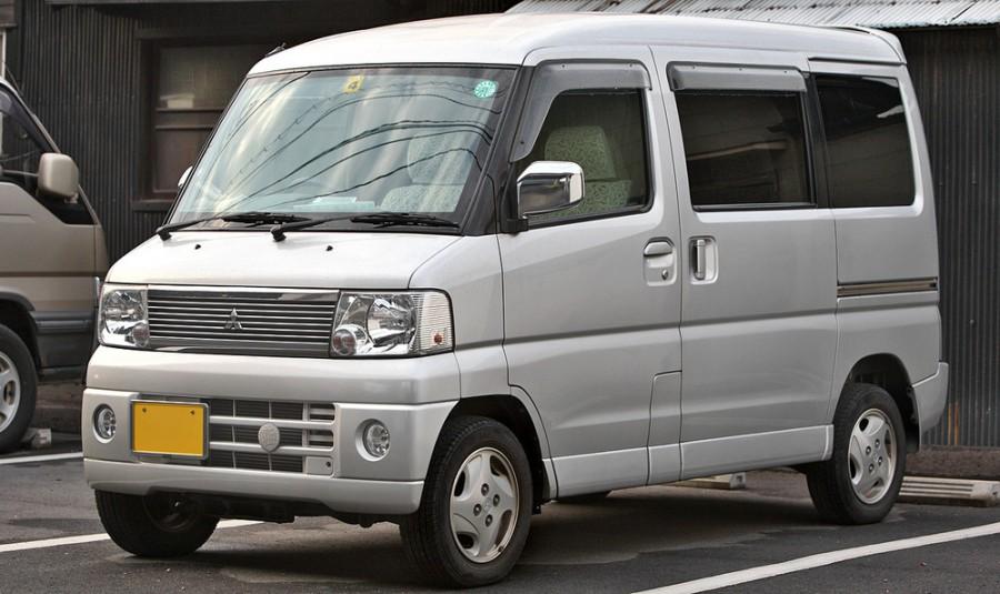 Mitsubishi Town Box минивэн, 1999–2011, 1 поколение - отзывы, фото и характеристики на Car.ru