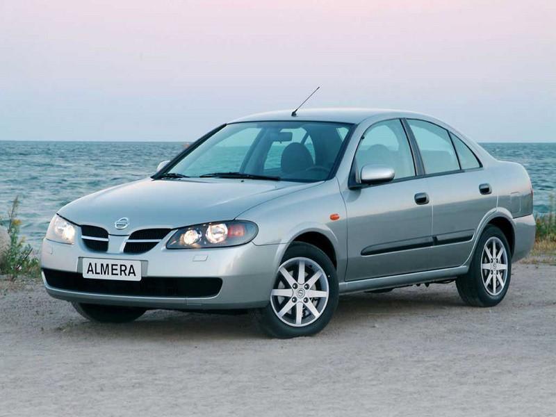 Nissan Almera седан, 2003–2006, N16 [рестайлинг] - отзывы, фото и характеристики на Car.ru