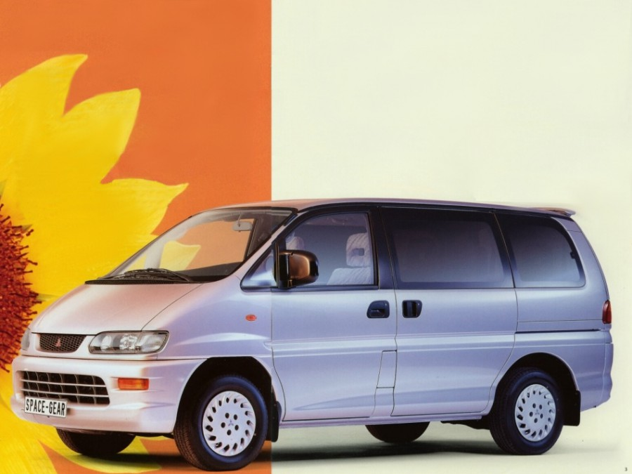 Mitsubishi Space Gear минивэн, 1997–2007, 1 поколение [рестайлинг] - отзывы, фото и характеристики на Car.ru