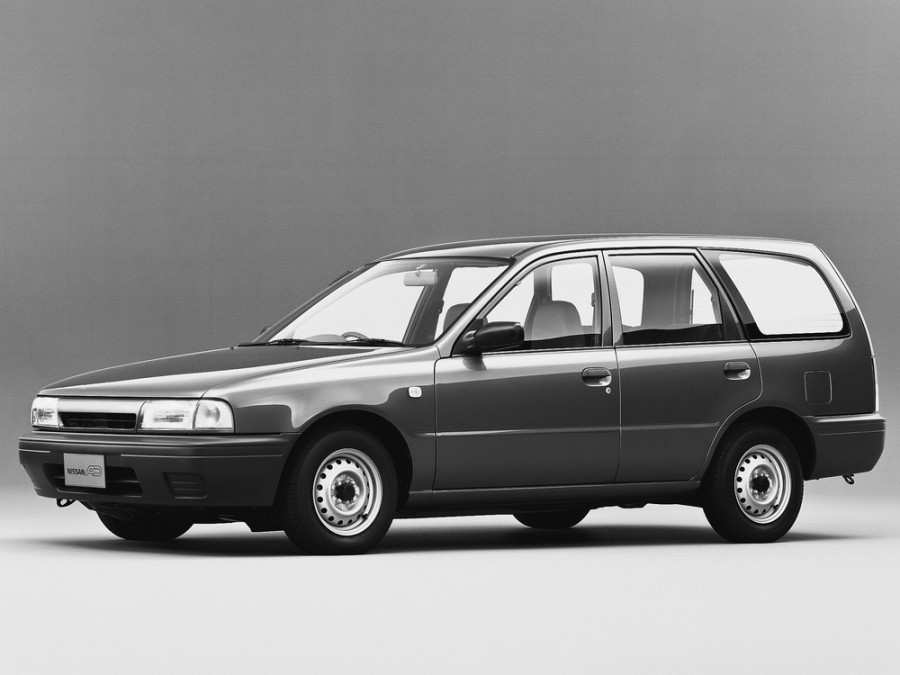 Nissan AD универсал, 1990–1996, Y10 - отзывы, фото и характеристики на Car.ru
