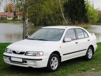 Nissan Almera, N15 [рестайлинг], Седан, 1998–2000