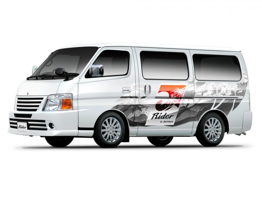 Nissan Caravan микроавтобус, 2005–2012, E25 [рестайлинг] - отзывы, фото и характеристики на Car.ru