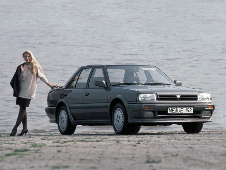 Nissan Bluebird седан, 1985–1992, T12/T72 [2-й рестайлинг] - отзывы, фото и характеристики на Car.ru