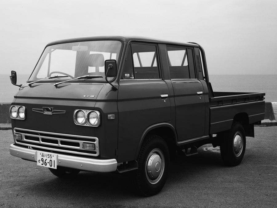 Nissan Caball Double Cab борт 4-дв., 1966–1976, C240 - отзывы, фото и характеристики на Car.ru