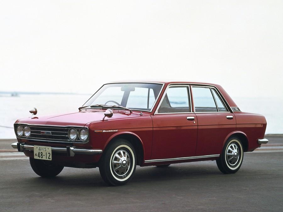 Nissan Bluebird седан 4-дв., 1967–1972, 510 - отзывы, фото и характеристики на Car.ru