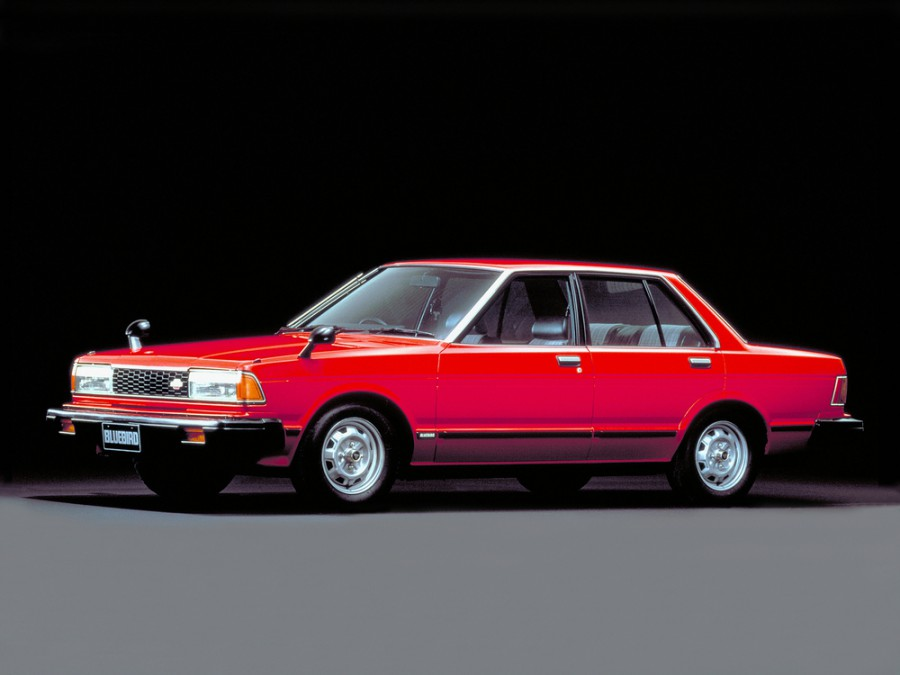 Nissan Bluebird седан, 1979–1993, 910 - отзывы, фото и характеристики на Car.ru