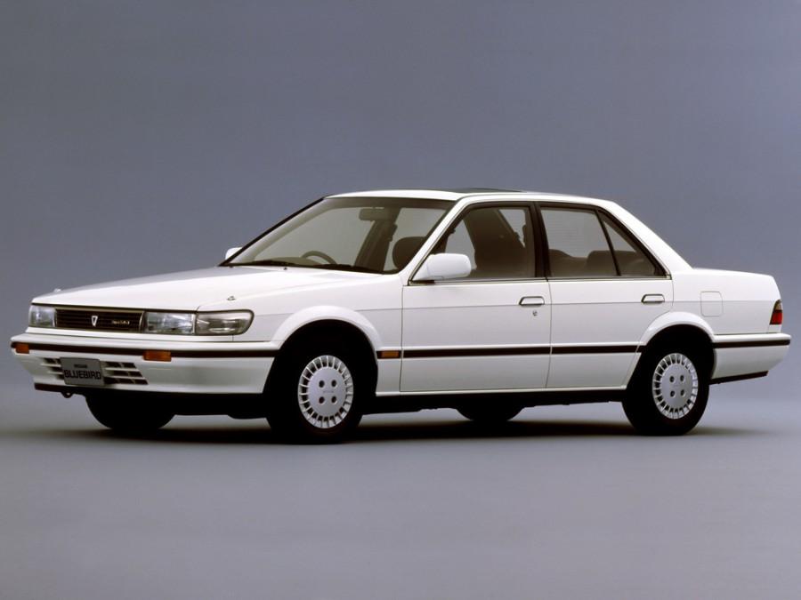 Nissan Bluebird седан, 1987–1991, U12 - отзывы, фото и характеристики на Car.ru