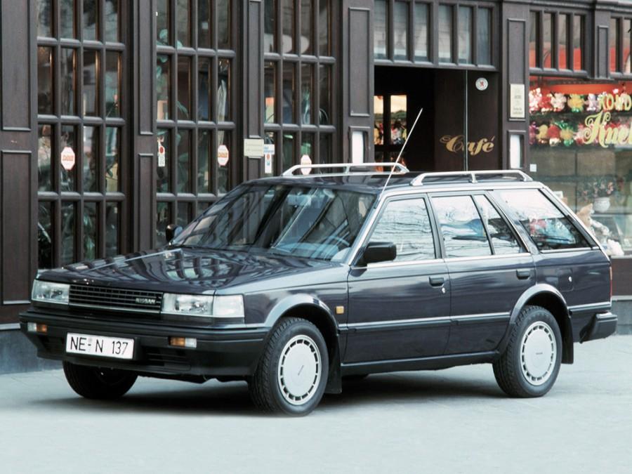 Nissan Bluebird универсал, 1983–1991, U11 - отзывы, фото и характеристики на Car.ru
