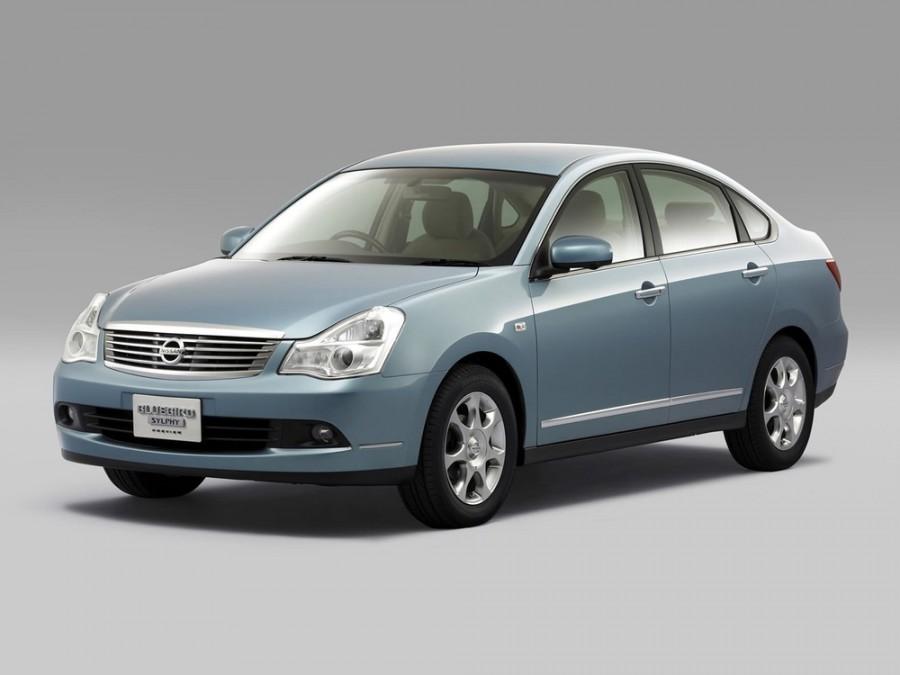Nissan Bluebird Sylphy седан, 2005–2012, G11 - отзывы, фото и характеристики на Car.ru