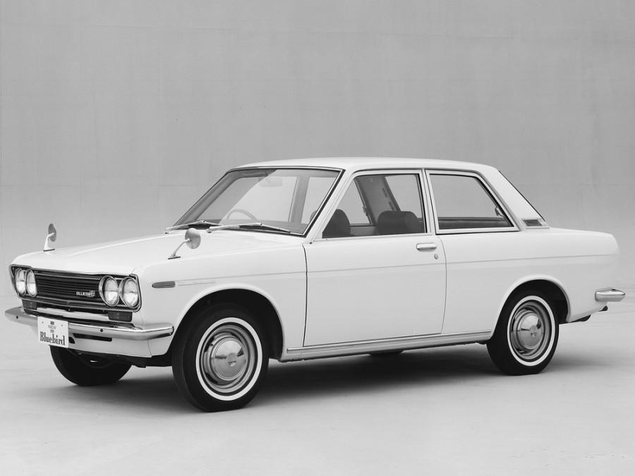 Nissan Bluebird седан 2-дв., 1967–1972, 510 - отзывы, фото и характеристики на Car.ru