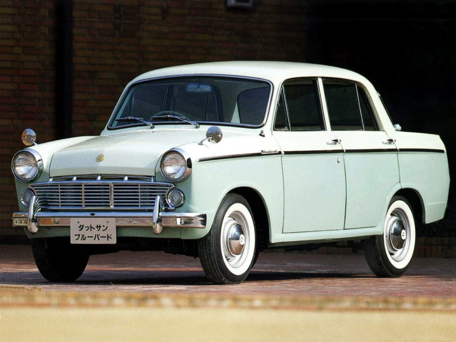 Nissan Bluebird седан, 1960–1963, 312 [рестайлинг] - отзывы, фото и характеристики на Car.ru