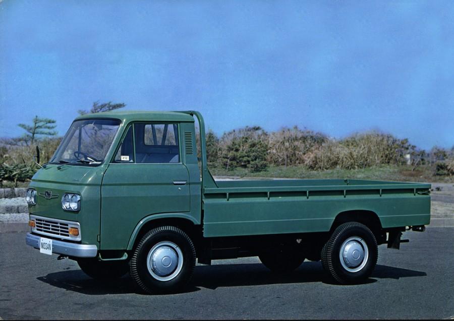 Nissan Caball борт 2-дв., 1966–1976, C240 - отзывы, фото и характеристики на Car.ru