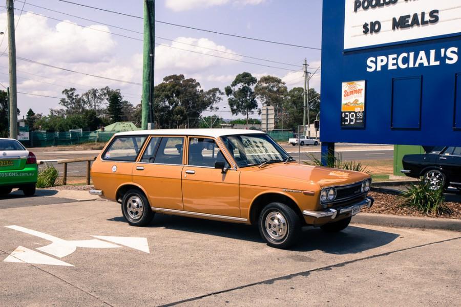 Nissan Bluebird универсал, 1971–1973, 610 - отзывы, фото и характеристики на Car.ru