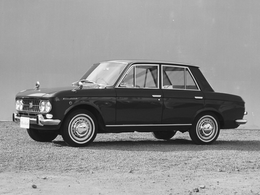 Nissan Bluebird седан, 1963–1967, 410 - отзывы, фото и характеристики на Car.ru