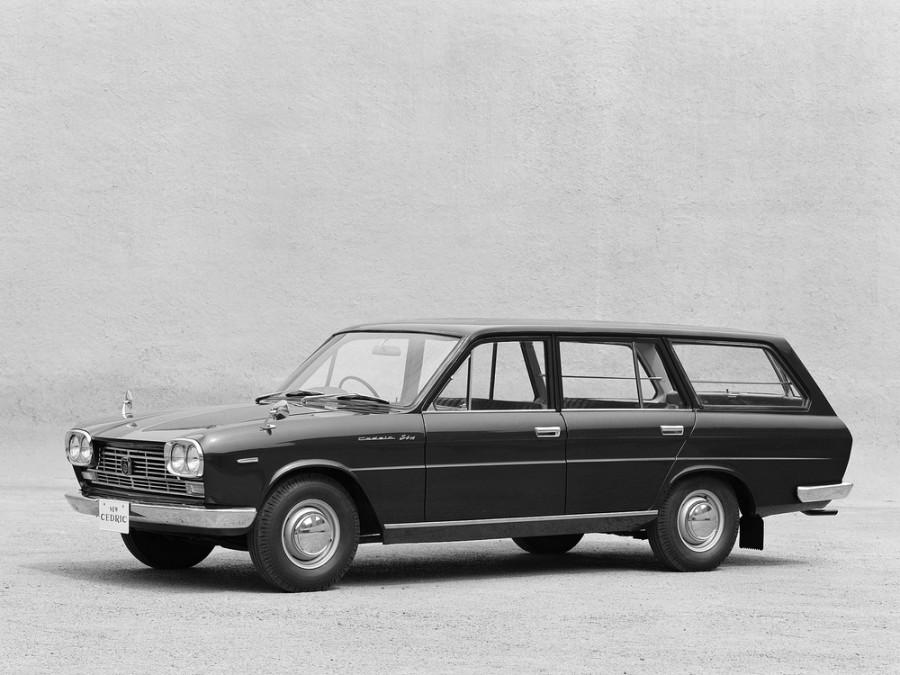 Nissan Cedric универсал, 1965–1968, 130 - отзывы, фото и характеристики на Car.ru
