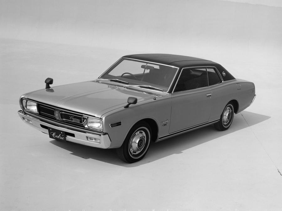 Nissan Cedric хардтоп 2-дв., 1971–1975, 230 - отзывы, фото и характеристики на Car.ru