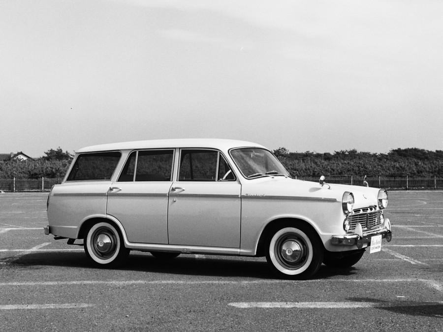 Nissan Bluebird универсал, 1960–1963, 312 [рестайлинг] - отзывы, фото и характеристики на Car.ru