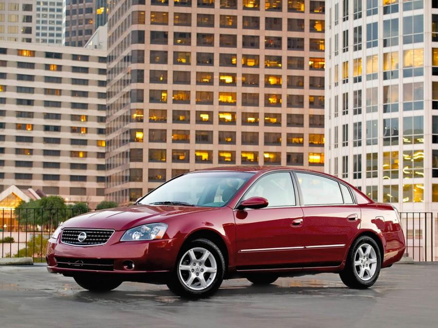 Nissan Altima седан 4-дв., 2005–2006, L31 [рестайлинг] - отзывы, фото и характеристики на Car.ru