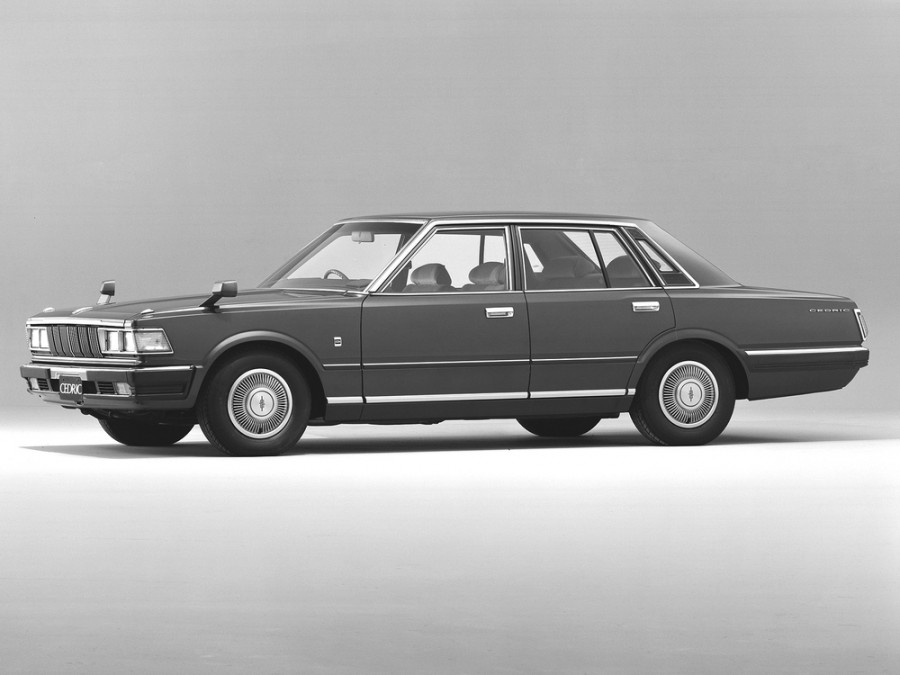 Nissan Cedric седан, 1979–1981, 430 - отзывы, фото и характеристики на Car.ru
