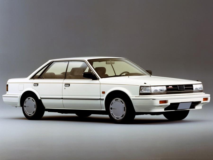 Nissan Bluebird хардтоп, 1985–1990, U11 [рестайлинг] - отзывы, фото и характеристики на Car.ru
